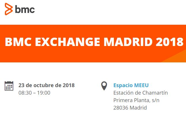 Ven al BMC Exchange Madrid