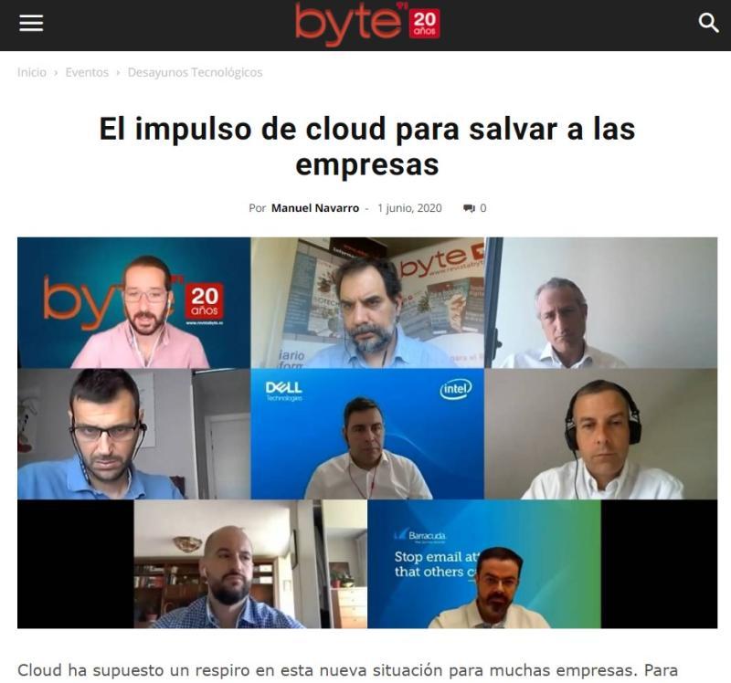 El impulso de cloud para salvar a las empresas