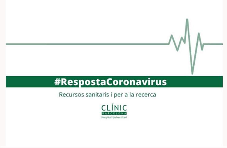 Campaña de fondos para el Hospital Clínic