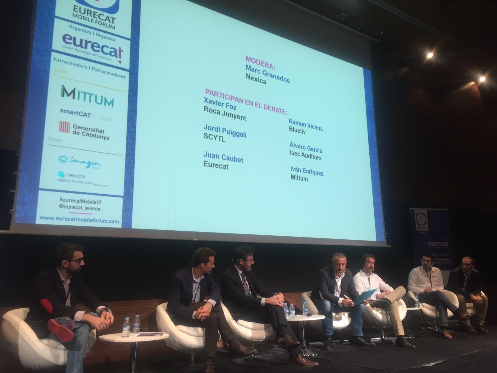 Nexica modera una sesión en el Eurecat Mobile Forum