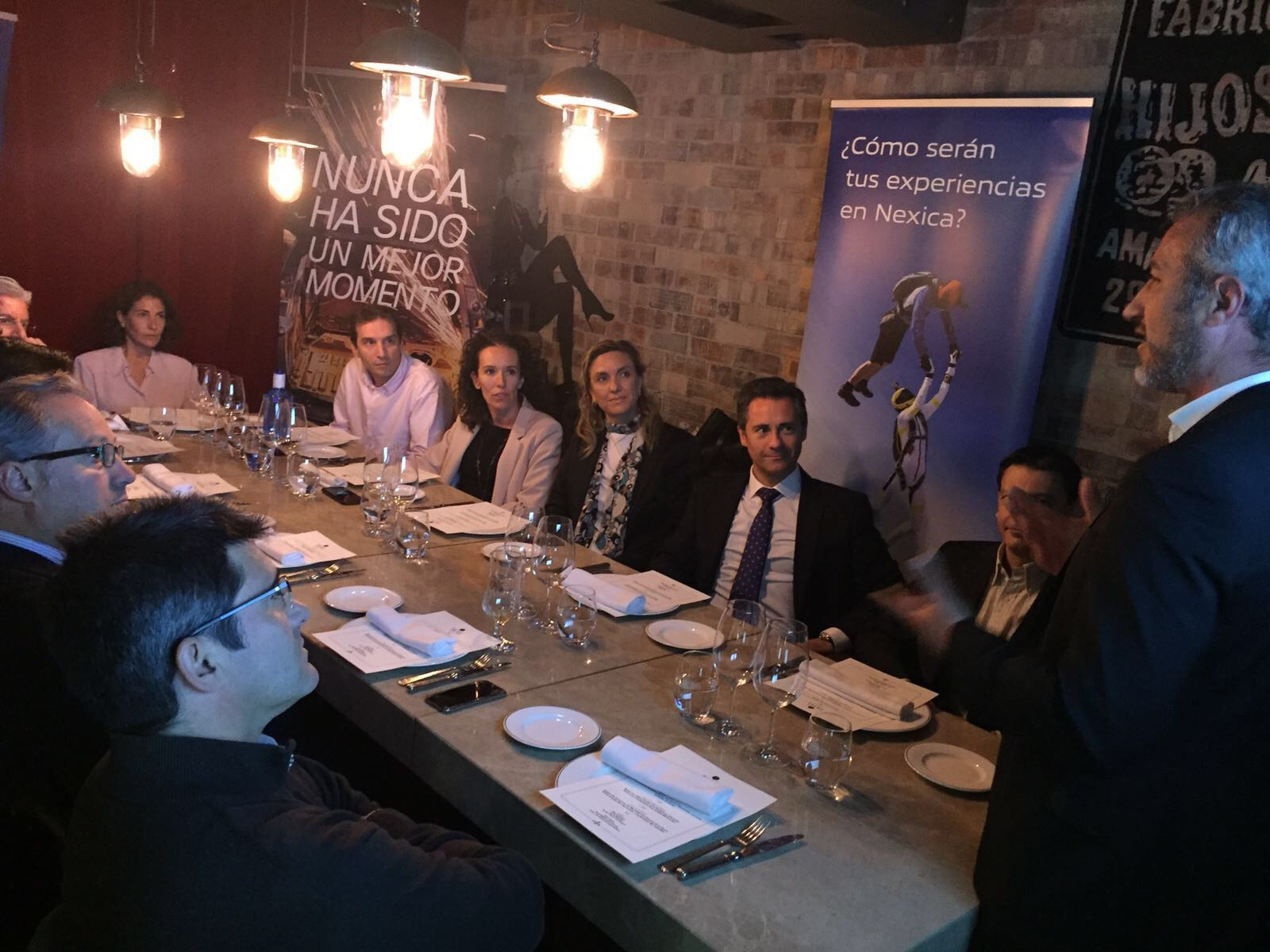 Great success in our first VIP Lunch in Madrid!