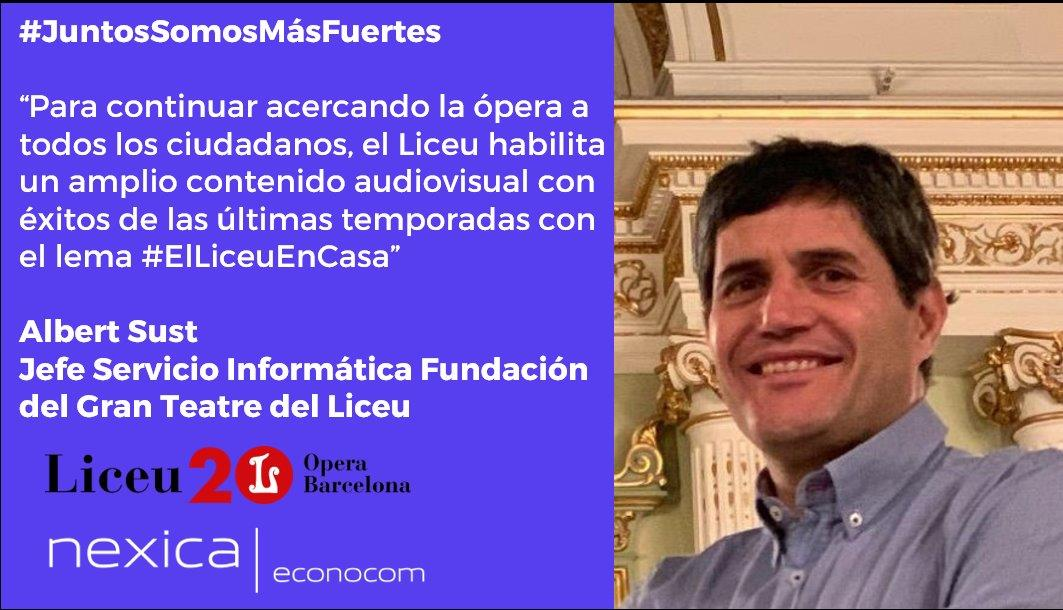 #JuntosSomosMásFuertes: #ElLiceuEnCasa o ópera online