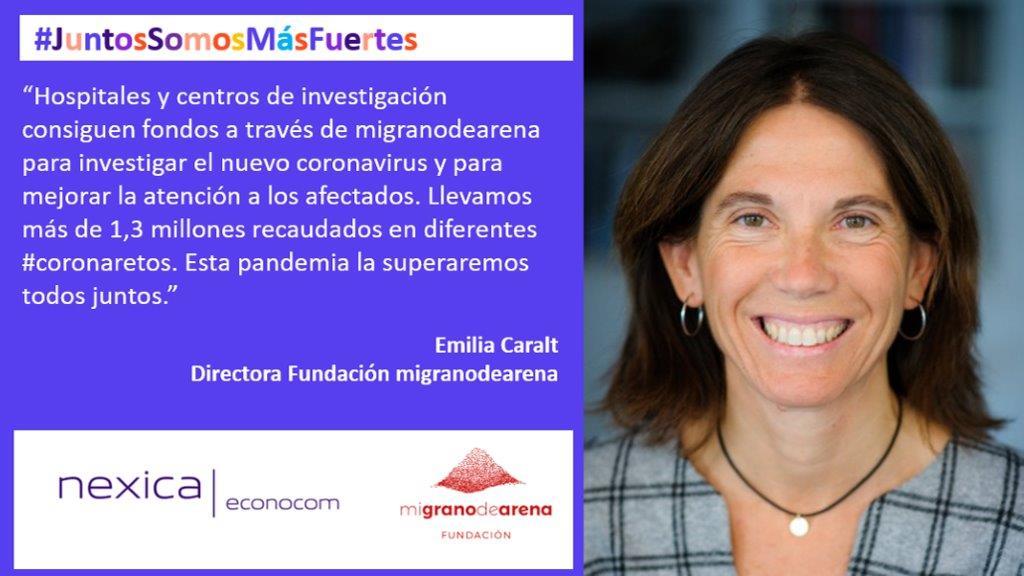 #coronaretos: migranodearena.org o cómo investigar el nuevo coronavirus y cuidar a pacientes de Covid-19