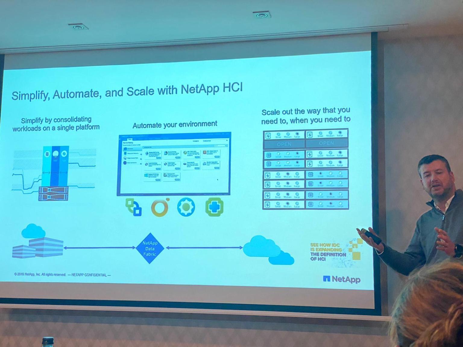 En el NetApp HCI Bootcamp