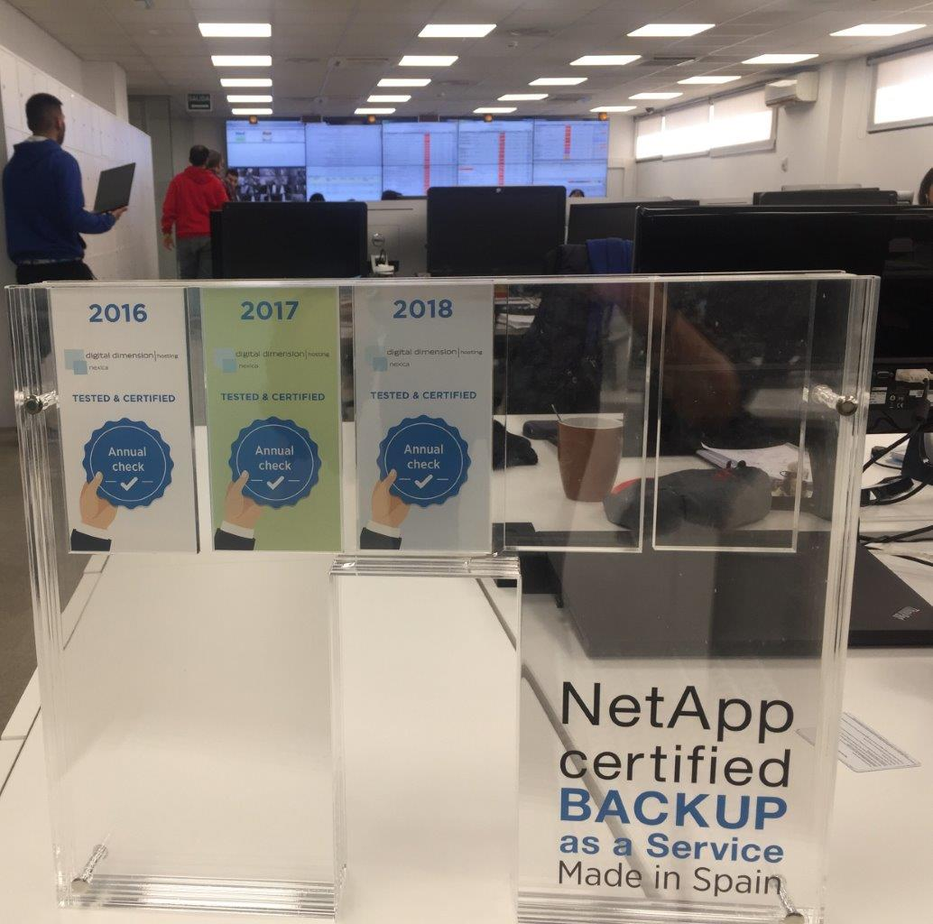NetApp cerrified Backup as a services