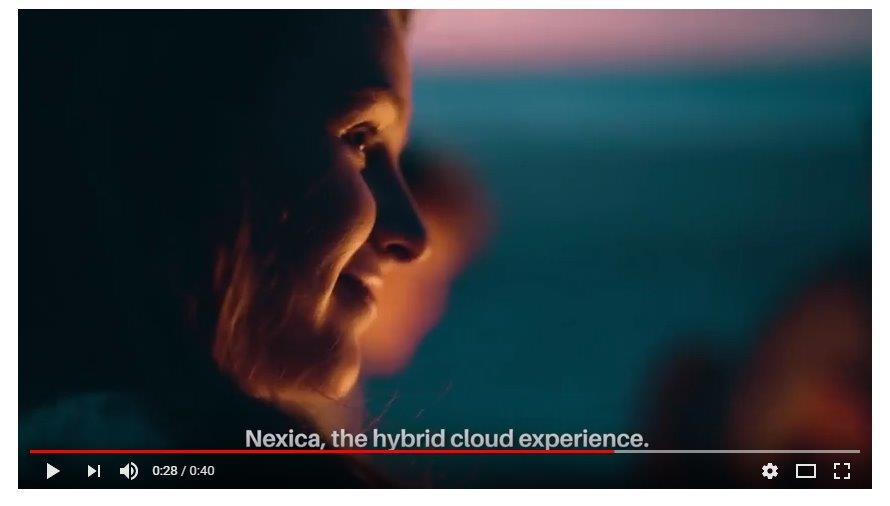 New Nexica Ad: The Hybrid Cloud Experience, in 30 seconds