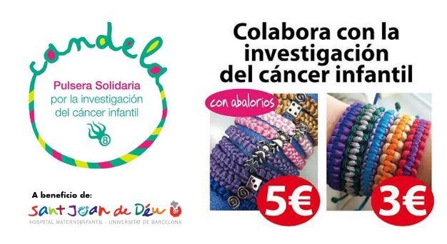 Nexica colabora con el proyecto Pulseras Candela, contra el cáncer infantil