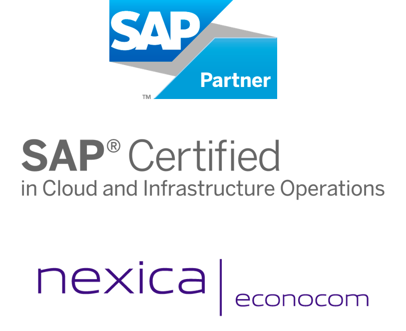 "Nexica | Econocom: ""SAP Certified in Cloud and Insfraestructure Operations"""