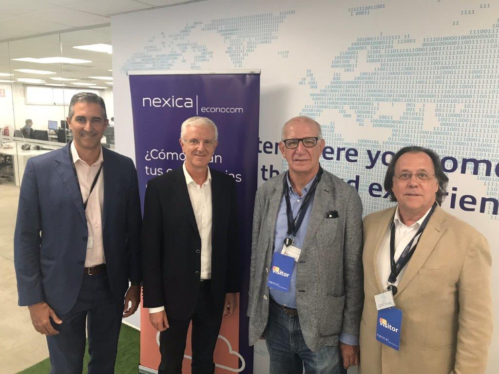 Bones notícies, renovem aliança i ja van 10 anys: l'Associació Catalana d'Enginyers de Telecomunicació, Telecos.cat, i Nexica Econocom hem renovat el conveni de col·laboració vigent des de 2009. Com a novetat, Nexica Econocom es converteix ara en Corporate Member de Telecos. cat, un títol que acredita que la tecnològica disposa d'enginyers titulats associats a Telecos.cat i que valida la qualitat dels nostres projectes.