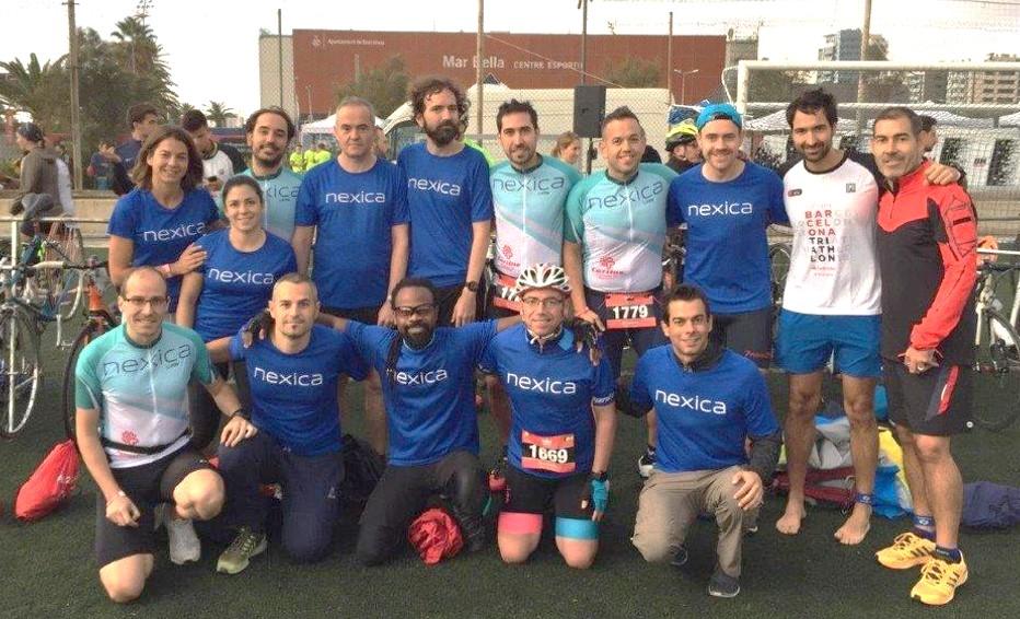 Equip Nexica Triatló Barcelona