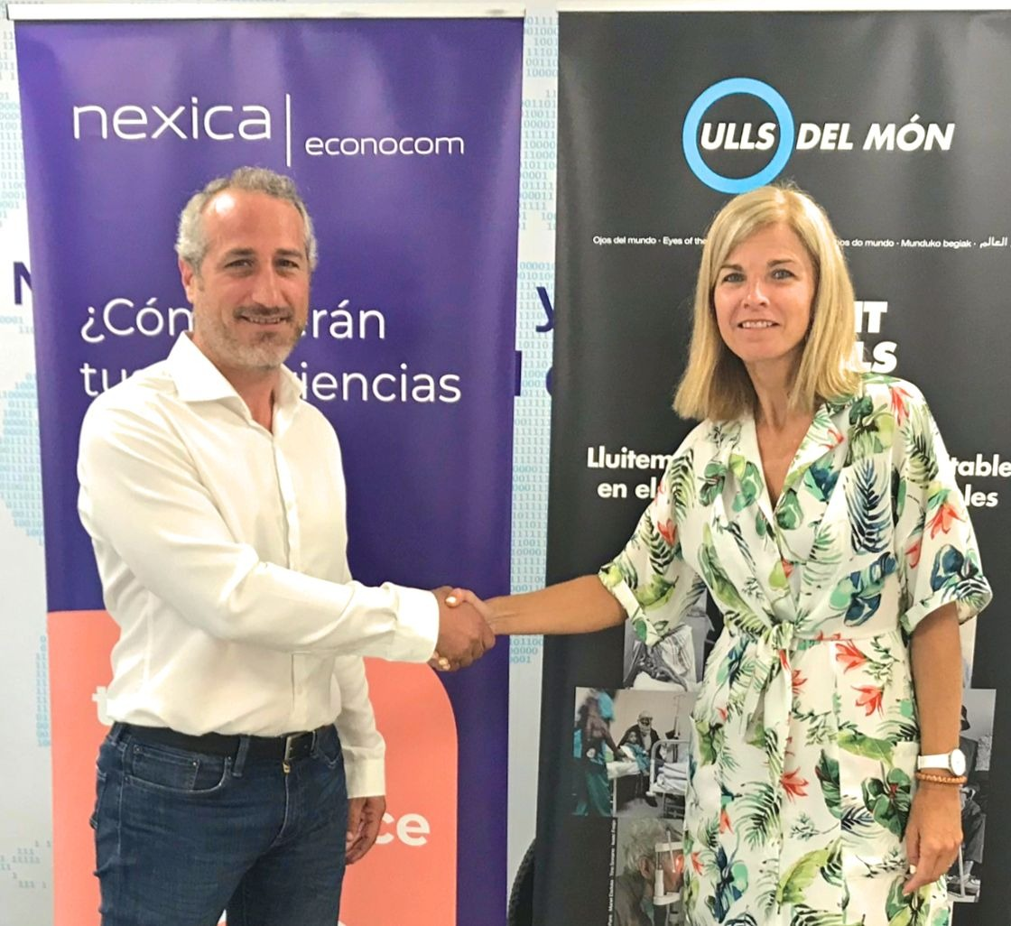 Eyes of the World Foundation and Nexica Econocom renew collaboration