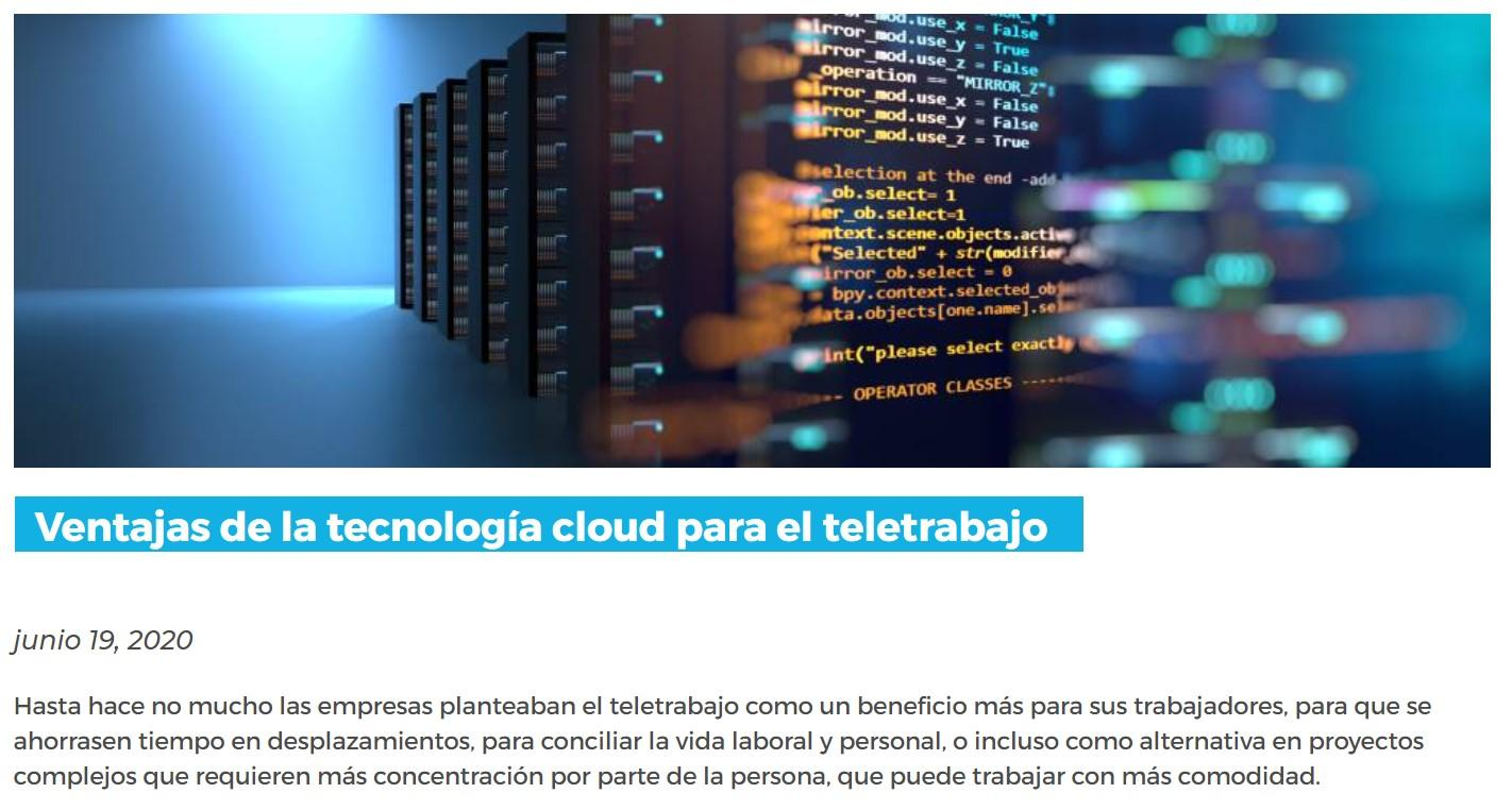 Hablamos de cloud híbrido, multicloud, Edge Computing y 5G