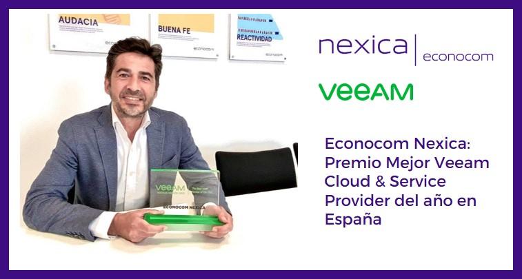 Vicente Llosa, director de operaciones de Econocom Nexica - Econocom Nexica: premio Mejor Veeam Cloud & Service Provider del año en España